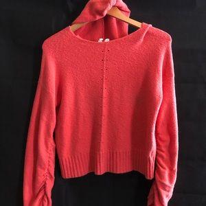 Anthro Moth hoodie sweater XS